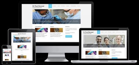 modèle de site internet pour dentiste